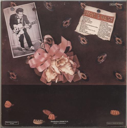 Chuck Berry Golden Decade 2-LP vinyl record set (Double Album) French CHK2LGO706044