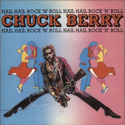 Chuck Berry Hail Hail Rock 'N' Roll vinyl LP album (LP record) UK CHKLPHA722368