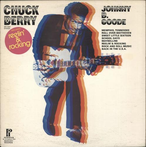 Chuck Berry Johnny B. Goode vinyl LP album (LP record) Canadian CHKLPJO719563