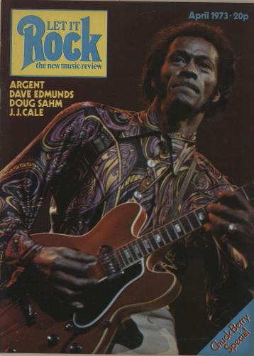 Chuck Berry Let It Rock - April 1973 magazine UK CHKMALE680981