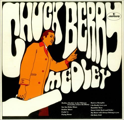 Chuck Berry Medley Uk Vinyl Lp Album Lp Record 444865