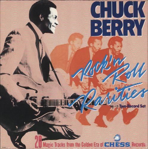 Chuck Berry Rock 'N Roll Rarities - Gold promo stamp 2-LP vinyl record set (Double Album) US CHK2LRO728401