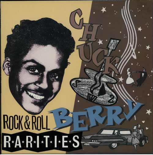 Chuck Berry Rock 'N' Roll Rarities 2-LP vinyl record set (Double Album) Italian CHK2LRO231690