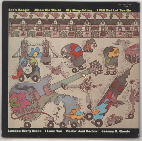 Chuck Berry The London Chuck Berry Sessions vinyl LP album (LP record) UK CHKLPTH728336