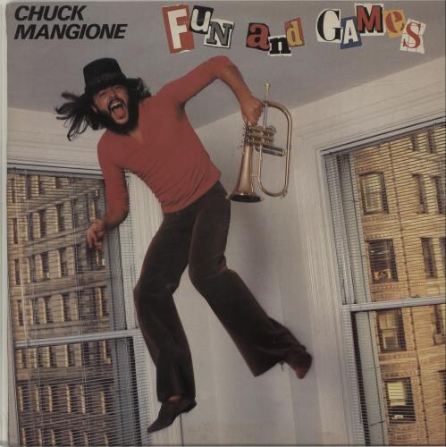 Chuck Mangione Fun And Games vinyl LP album (LP record) UK CMGLPFU683129
