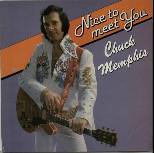 Chuck Memphis Nice To Meet You vinyl LP album (LP record) Dutch C13LPNI620068