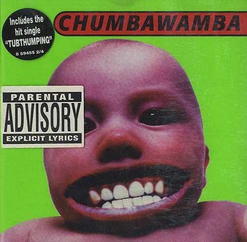 Chumbawamba Tubthumper Dutch Cd Album Cdlp 436332