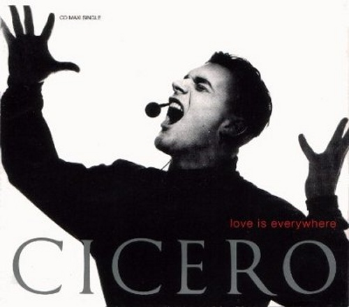 "Cicero Love Is Everywhere CD single (CD5 / 5"") UK CICC5LO15439"