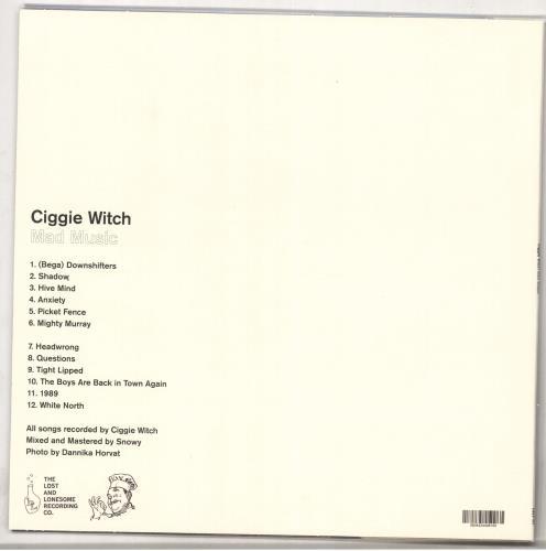 Ciggie Witch Mad Music vinyl LP album (LP record) Australian 0IJLPMA728589