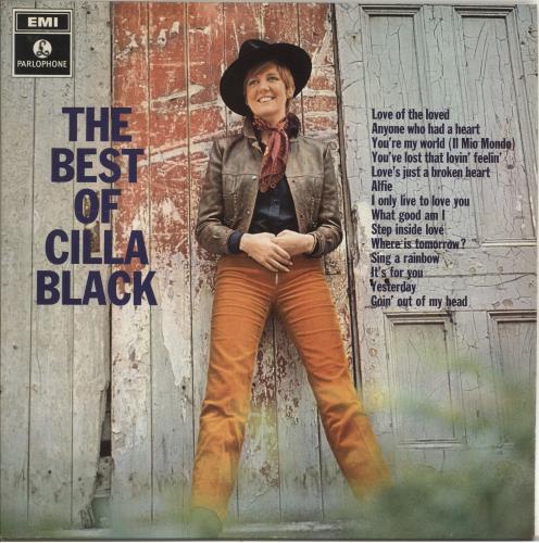 Cilla Black The Best Of Cilla Black 1st Uk Vinyl Lp