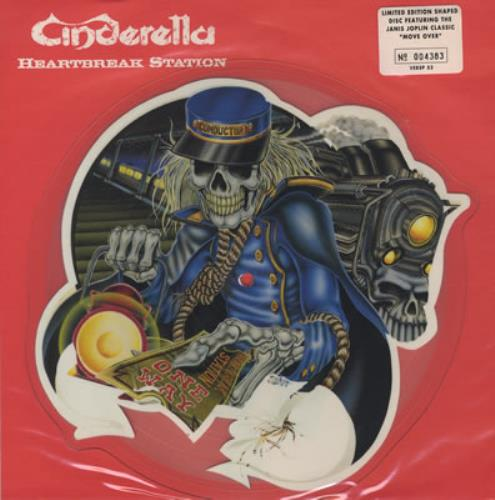 Cinderella Heartbreak Station Uk Shaped Picture Disc