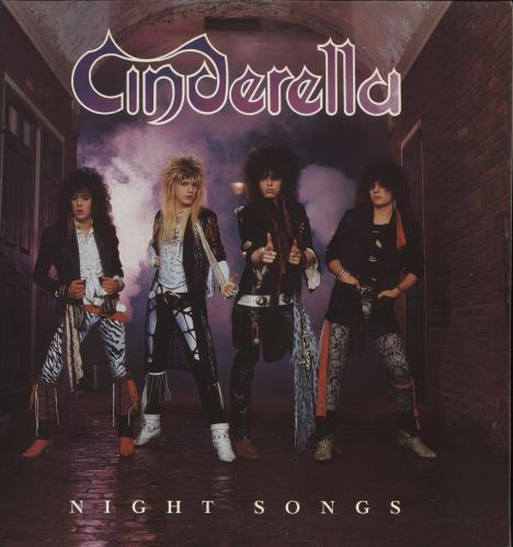 Cinderella Night Songs vinyl LP album (LP record) UK CINLPNI245864
