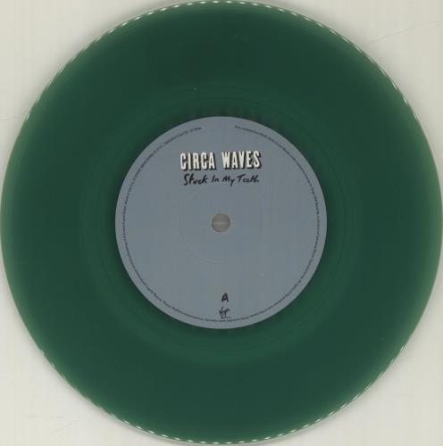 "Circa Waves Stuck In My Life - Green Vinyl 7"" vinyl single (7 inch record) UK G8U07ST680496"
