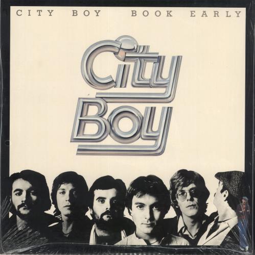 City Boy Book Early - shrink vinyl LP album (LP record) UK CTBLPBO724877