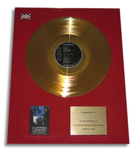 Clannad Legend award disc UK CLNAWLE398222
