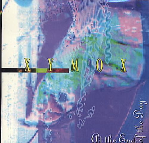 """Clan Of Xymox At The End Of The Day CD single (CD5 / 5"""") US XYMC5AT297368"""