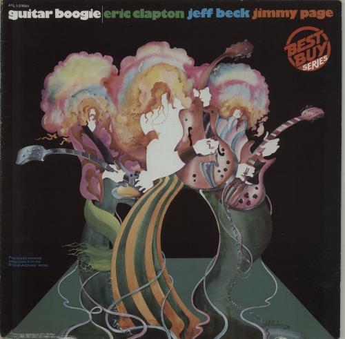Clapton, Beck & Page Guitar Boogie - export vinyl LP album (LP record) US F3ELPGU280448
