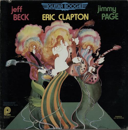 Clapton, Beck & Page Guitar Boogie vinyl LP album (LP record) Canadian F3ELPGU427793