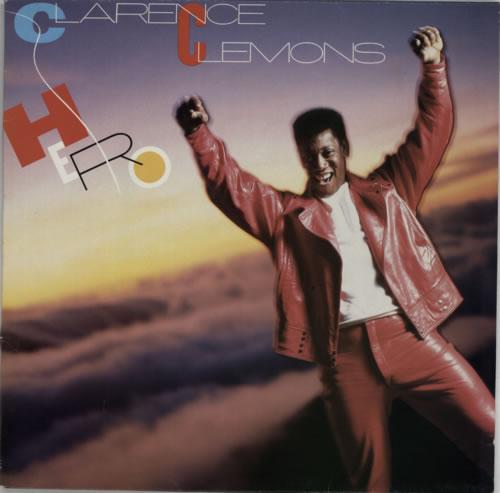 Clarence Clemons Hero vinyl LP album (LP record) UK CM3LPHE592025