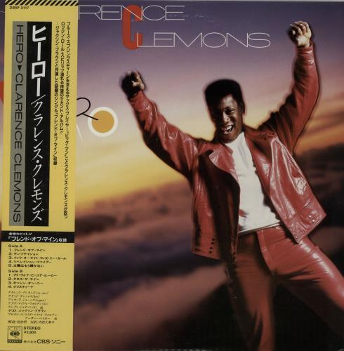Clarence Clemons Hero vinyl LP album (LP record) Japanese CM3LPHE647006