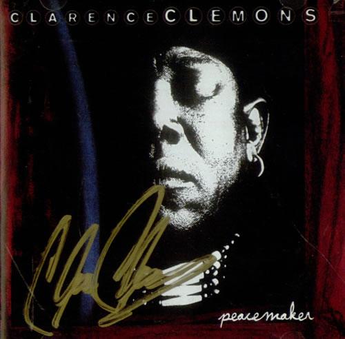 Clarence Clemons Peacemaker - Autographed CD album (CDLP) US CM3CDPE541278