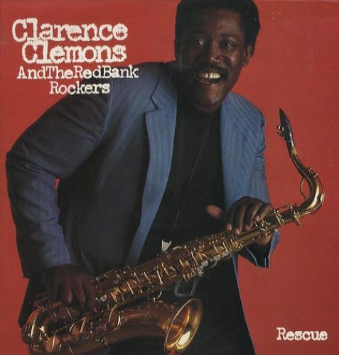 Clarence Clemons Rescue vinyl LP album (LP record) UK CM3LPRE425634