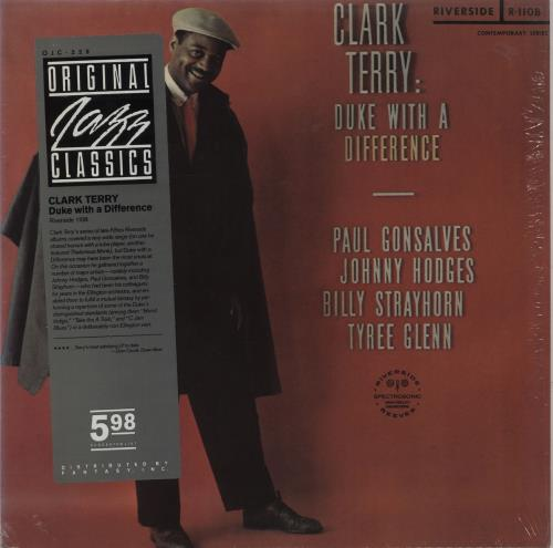 Clark Terry Duke With A Difference - stickered shrink vinyl LP album (LP record) US CTILPDU668298