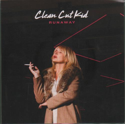 "Clean Cut Kid Runaway - Pink Vinyl 7"" vinyl single (7 inch record) UK O7F07RU682870"