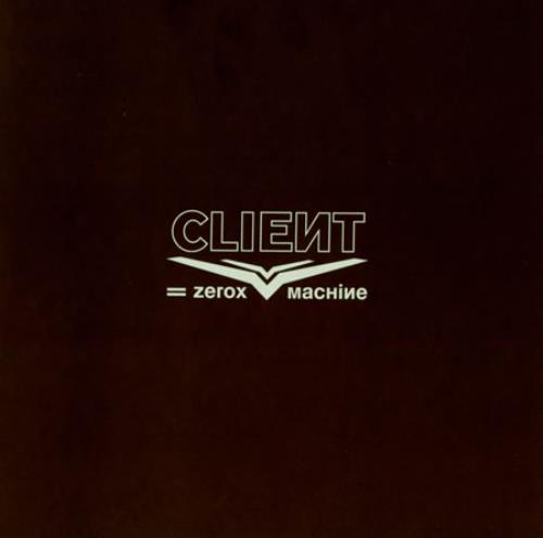 "Client Zerox Machine - White Vinyl 7"" vinyl single (7 inch record) UK C\T07ZE386678"