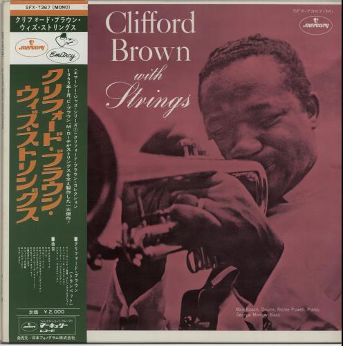 Clifford Brown Clifford Brown With Strings vinyl LP album (LP record) Japanese C~BLPCL652804