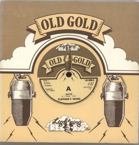 """Clifford T. Ward Gaye 7"""" vinyl single (7 inch record) UK CTW07GA415130"""