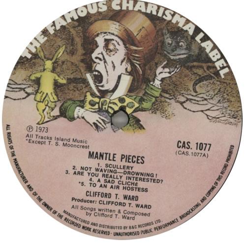 Clifford T. Ward Mantle Pieces vinyl LP album (LP record) UK CTWLPMA591124