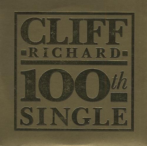 "Cliff Richard 100th Single - The Best Of Me CD single (CD5 / 5"") UK RICC5TH41414"