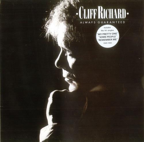 Cliff Richard Always Guaranteed - Sample Stickered vinyl LP album (LP record) UK RICLPAL530802