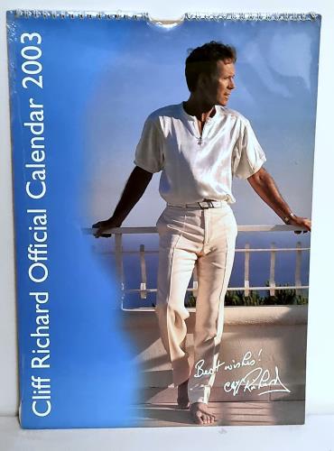 Cliff Richard Calendar 2003 calendar UK RICCACA225427