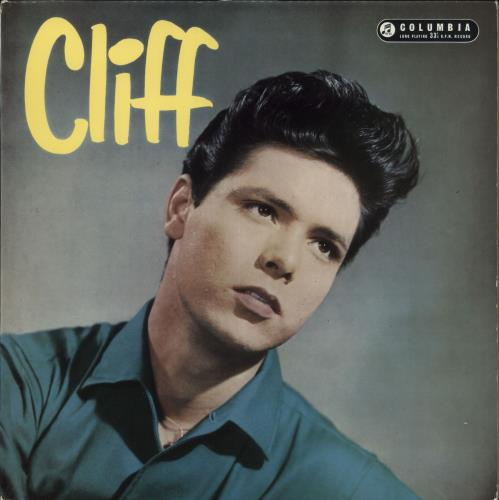 Cliff Richard Cliff - 1st vinyl LP album (LP record) UK RICLPCL604360