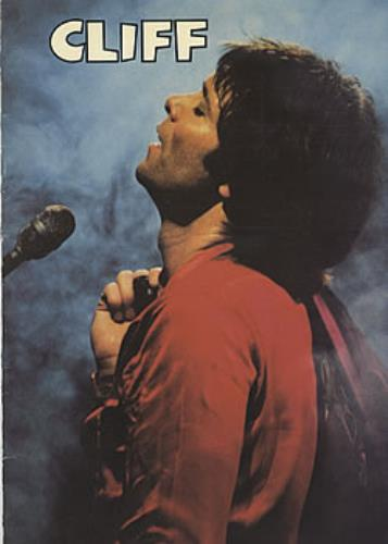 Cliff Richard Cliff tour programme UK RICTRCL321581