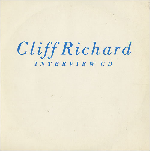 Cliff Richard Interview CD CD album (CDLP) UK RICCDIN15499
