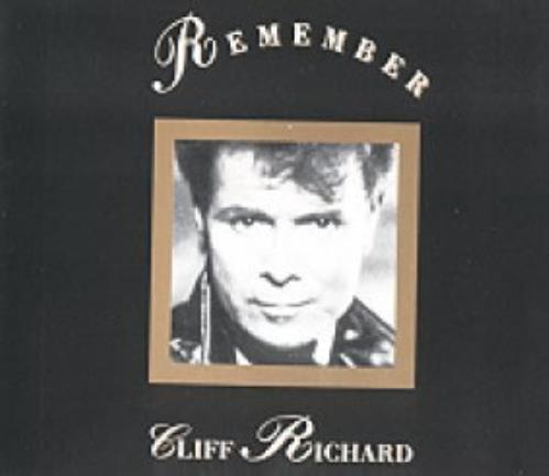 "Cliff Richard Remember CD single (CD5 / 5"") French RICC5RE93459"
