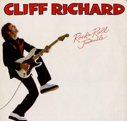 Cliff Richard Rock 'n' Roll Juvenile vinyl LP album (LP record) Dutch RICLPRO555627
