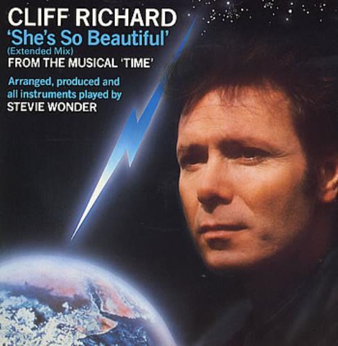 "Cliff Richard She's So Beautiful 12"" vinyl single (12 inch record / Maxi-single) UK RIC12SH15061"