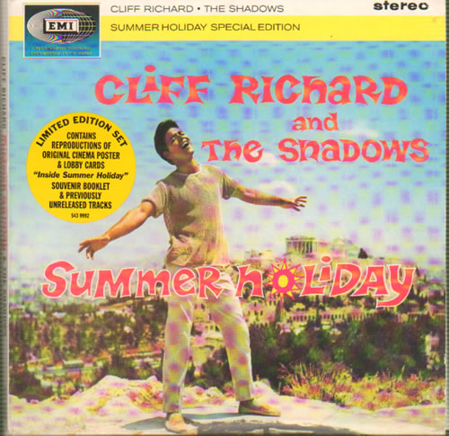 Cliff Richard Summer Holiday CD album (CDLP) UK RICCDSU642287