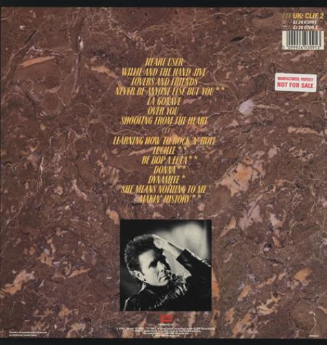 Cliff Richard The Rock Connection vinyl LP album (LP record) UK RICLPTH235886