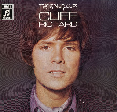 Cliff Richard Tracks 'N Grooves vinyl LP album (LP record) German RICLPTR551165
