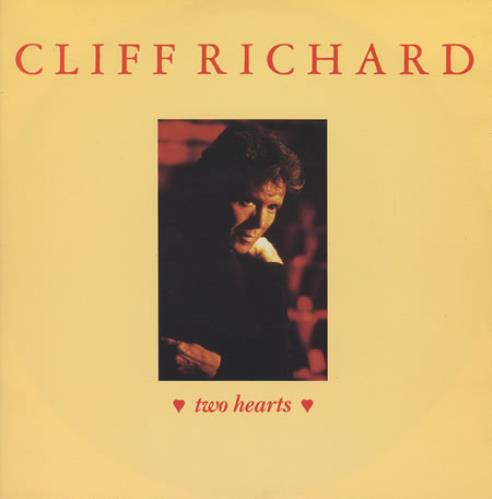 "Cliff Richard Two Hearts 12"" vinyl single (12 inch record / Maxi-single) UK RIC12TW144655"