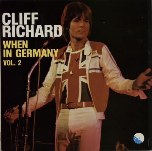 Cliff Richard When In Germany Volumes 1 Amp 2 Belgian 2 Lp