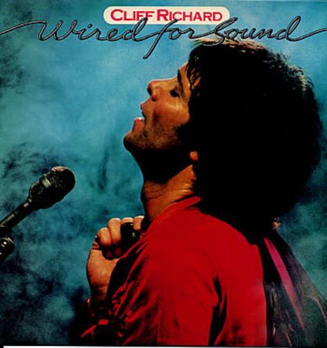 Cliff Richard Wired For Sound UK vinyl LP album (LP record) (60732)