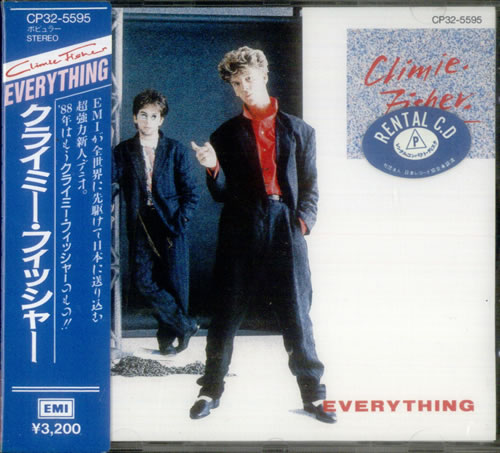 Climie Fisher Everything CD album (CDLP) Japanese CLICDEV541991