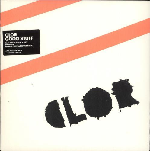 "Clor Good Stuff - 2/2 7"" vinyl single (7 inch record) UK CL007GO338159"