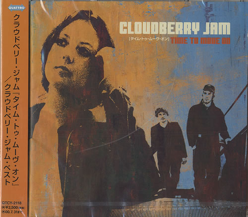 Cloudberry Jam Time To Move On CD album (CDLP) Japanese CBJCDTI487903
